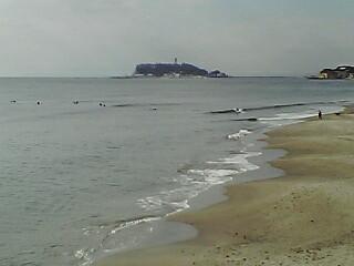 海を見に来ました