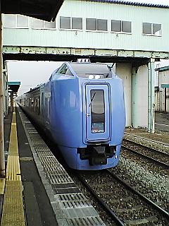 帰りの列車