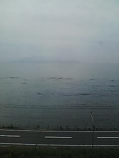 函館山が…
