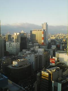 大阪にて…