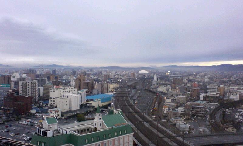 岡山の朝…