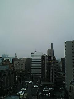 名古屋の朝…